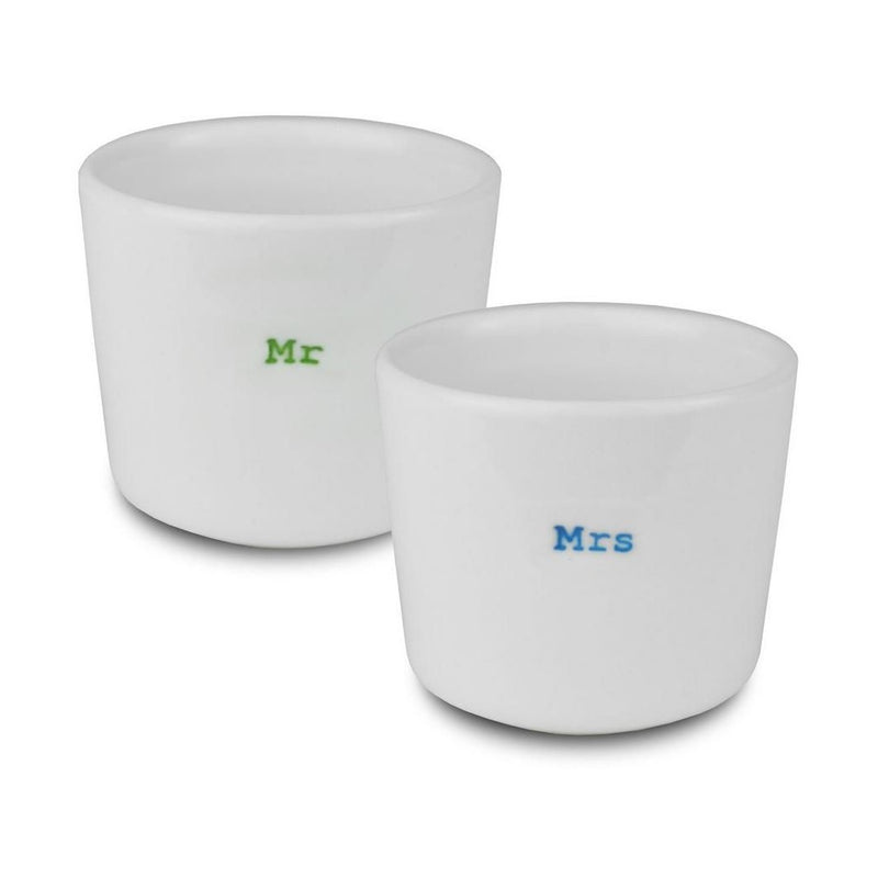 Egg Cups - Mr & Mrs