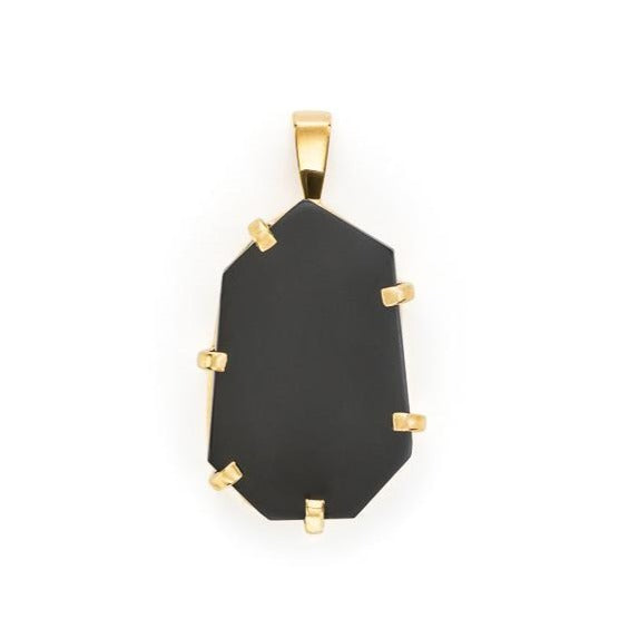 5th Symphony Onyx Amulet - Gold or Silver