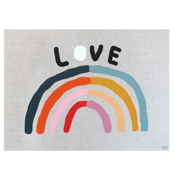 Art Teatowel - Love
