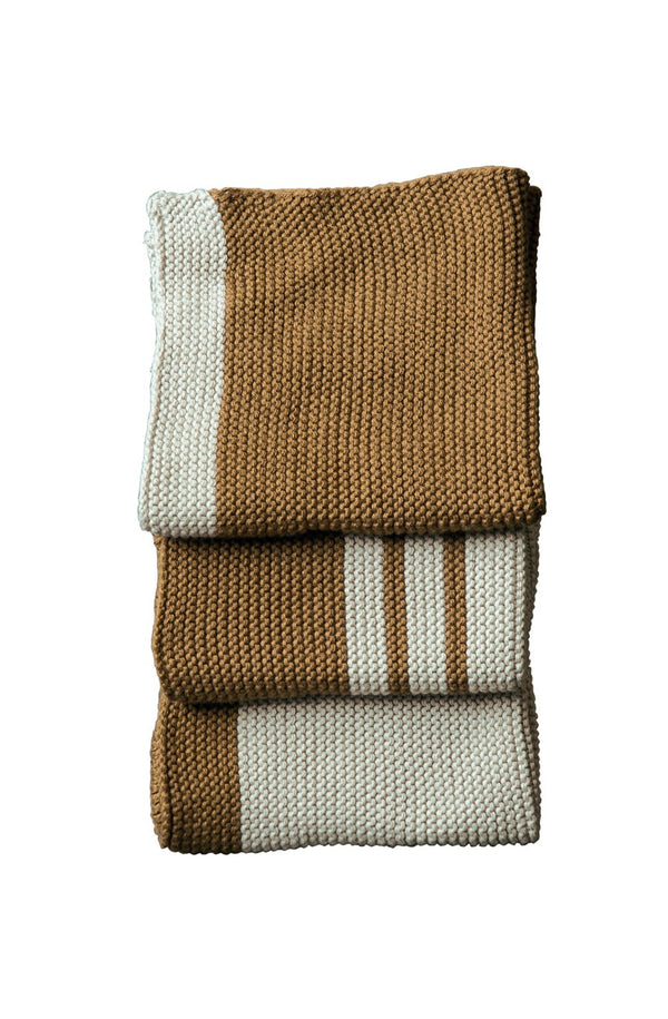 Lavette Bronze Washcloths - set of 3