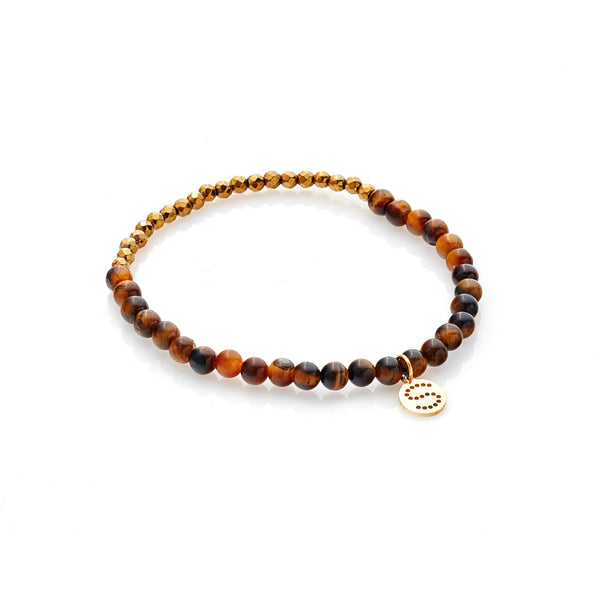 Party at the Front Bracelet - Tigers Eye