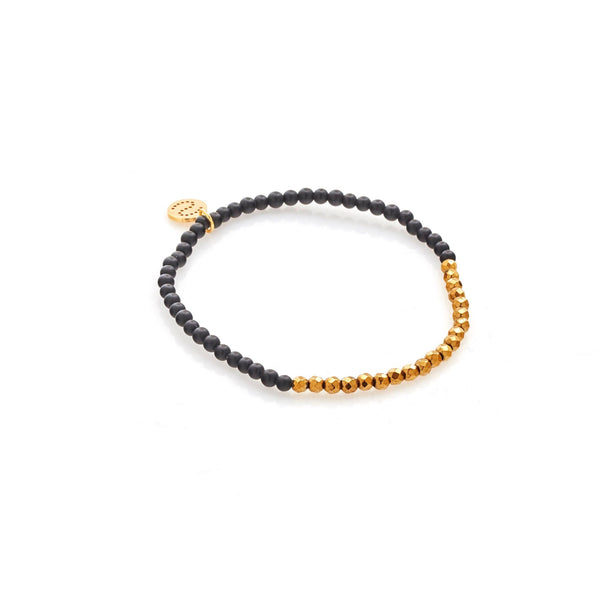 Party at the Front -  Black Onyx + Gold