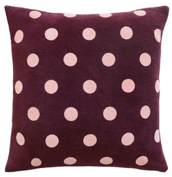 Violet Spot Cushion Cover