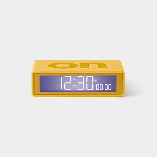 Reversible Flip Alarm Clock