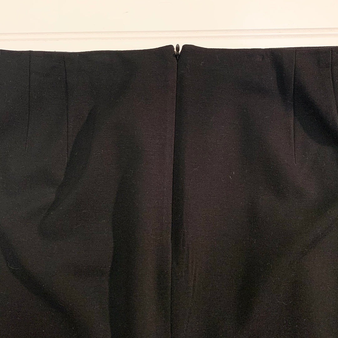 Photo #1 - BRAND: TALBOTS <BR>STYLE: SKIRT <BR>COLOR: BLACK WHITE <BR>SIZE: 20 <BR>SKU: 239-23911-71888<BR>FOLDED IN HALF FOR PHOTOGRAPHING