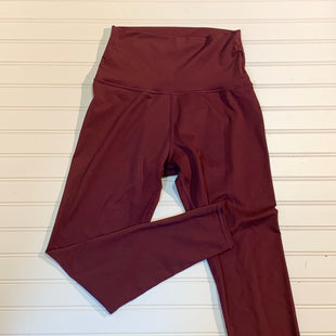 Primary Photo - BRAND:   BARRE 3 STYLE: ATHLETIC PANTS COLOR: MAROON SIZE: L OTHER INFO: COMPRESSION LEGGINGS SKU: 239-23918-37947