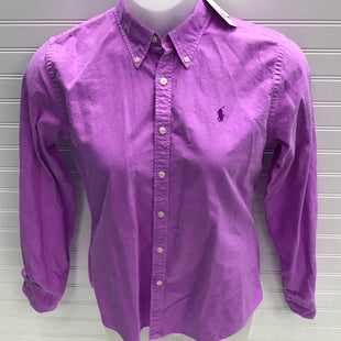 Primary Photo - BRAND: RALPH LAUREN STYLE: TOP LONG SLEEVE COLOR: PURPLE SIZE: L SKU: 239-23911-73094