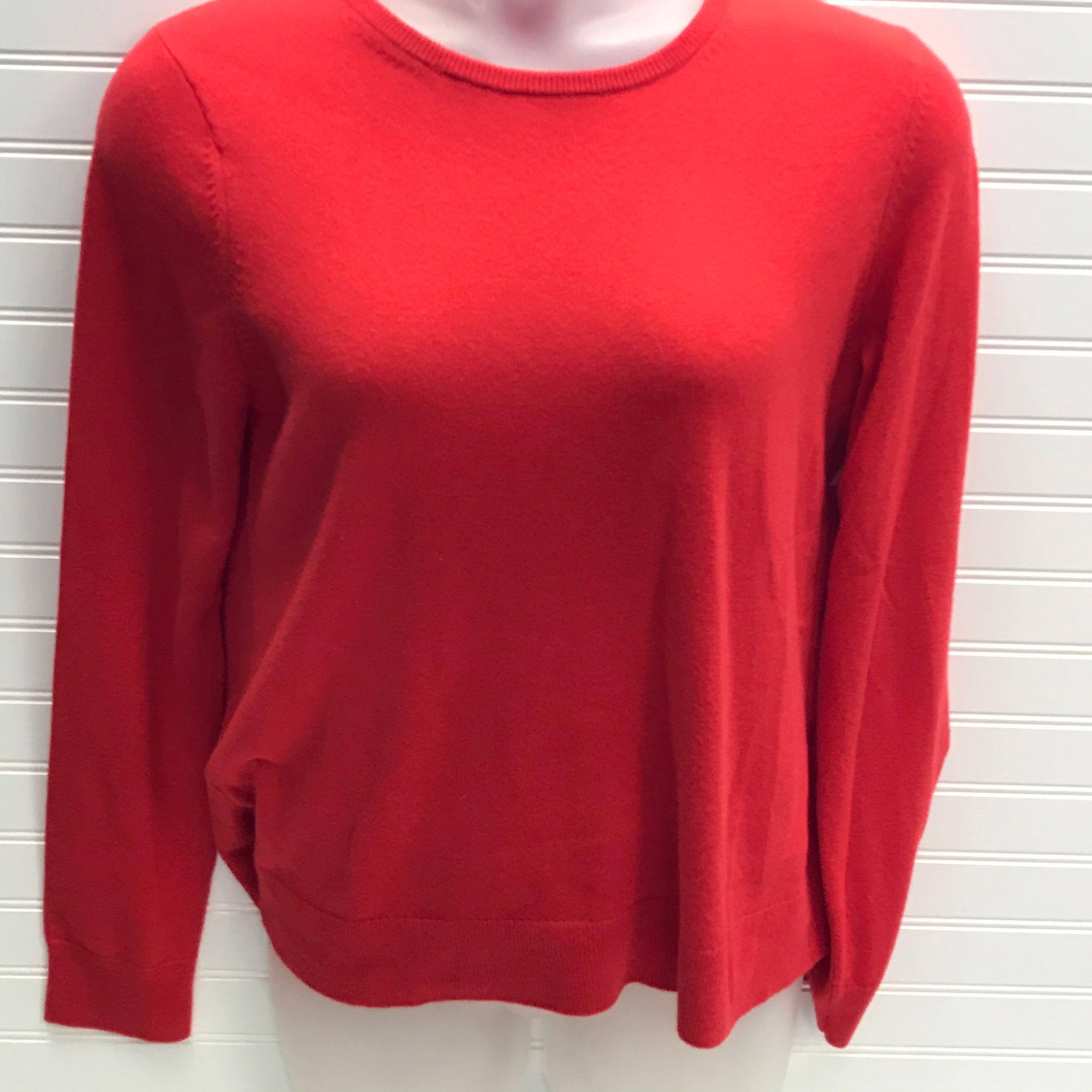 Primary Photo - BRAND: ANN TAYLOR <BR>STYLE: SWEATER CASHMERE <BR>COLOR: ORANGE <BR>SIZE: XL <BR>SKU: 239-23918-38126