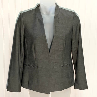 Primary Photo - BRAND: ANN TAYLOR STYLE: BLAZER JACKET COLOR: CHARCOAL SIZE: 10 OTHER INFO: NEW! SKU: 239-23918-36885