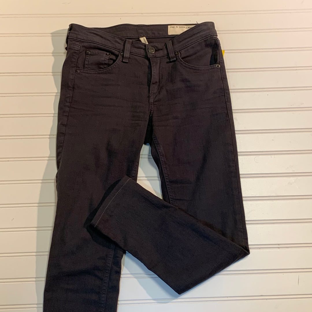 Primary Photo - BRAND: RAG & BONE<BR>STYLE: JEANS DESIGNER <BR>COLOR: GREY <BR>SIZE: 2 <BR>OTHER INFO: WAIST 25 <BR>SKU: 239-23911-70501