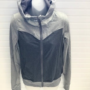 Primary Photo - BRAND: LULULEMON STYLE: ATHLETIC JACKET COLOR: GREY SIZE: 6 OTHER INFO: NEW! BLISS BREAK HOODIE SKU: 239-23911-73967
