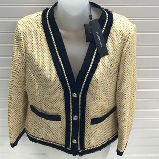 Primary Photo - BRAND: BCBGMAXAZRIA STYLE: BLAZER JACKET COLOR: TAN SIZE: L  SKU: 239-23918-38944