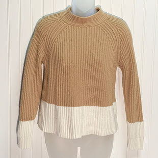 Primary Photo - BRAND: BANANA REPUBLIC STYLE: SWEATER HEAVYWEIGHT COLOR: CAMEL SIZE: S SKU: 239-23918-37570