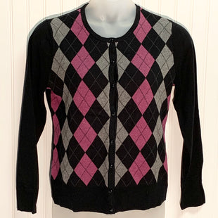 Primary Photo - BRAND: CROFT AND BARROW STYLE: SWEATER CARDIGAN LIGHTWEIGHT COLOR: BLACK SIZE: L OTHER INFO: NEW! SKU: 239-23911-71256