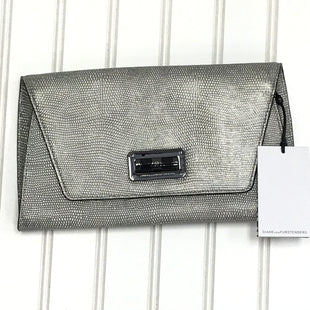 Primary Photo - BRAND: DIANE VON FURSTENBERG STYLE: CLUTCH COLOR: GREY SKU: 239-23918-39181