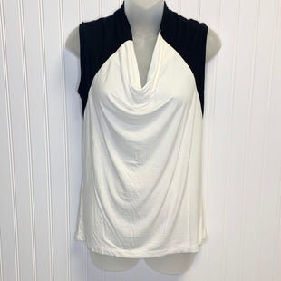 Primary Photo - BRAND: BCBG STYLE: TOP SLEEVELESS COLOR: BLACK WHITE SIZE: S OTHER INFO: NEW! SKU: 239-23918-37800
