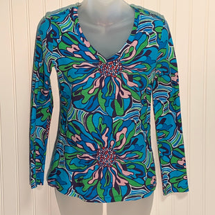 Primary Photo - BRAND: LILLY PULITZER STYLE: TOP LONG SLEEVE COLOR: MULTI SIZE: S SKU: 239-23911-67616