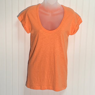 Primary Photo - BRAND: J CREW STYLE: TOP SHORT SLEEVE BASIC COLOR: PEACH SIZE: S OTHER INFO: NEW! SKU: 239-23918-37788