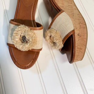 Primary Photo - BRAND: COACH STYLE: SANDALS HIGH COLOR: TAN SIZE: 8.5 SKU: 239-23918-37147