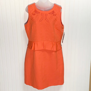 Primary Photo - BRAND: TAHARI BY ARTHUR LEVINE STYLE: DRESS SHORT SLEEVELESS COLOR: ORANGE SIZE: 14 OTHER INFO: NEW! SKU: 239-23911-71101