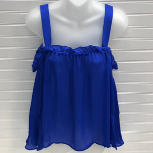 Primary Photo - BRAND: J CREW STYLE: TOP LONG SLEEVE COLOR: ROYAL BLUE SIZE: S OTHER INFO: NEW! 1005 SILK SKU: 239-23918-38625