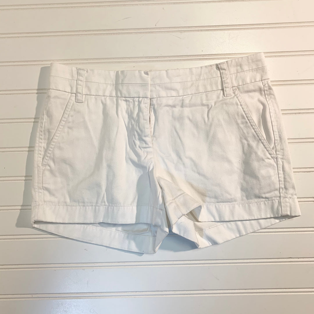 Primary Photo - BRAND: J CREW <BR>STYLE: SHORTS <BR>COLOR: WHITE <BR>SIZE: 0 <BR>SKU: 239-23918-37605