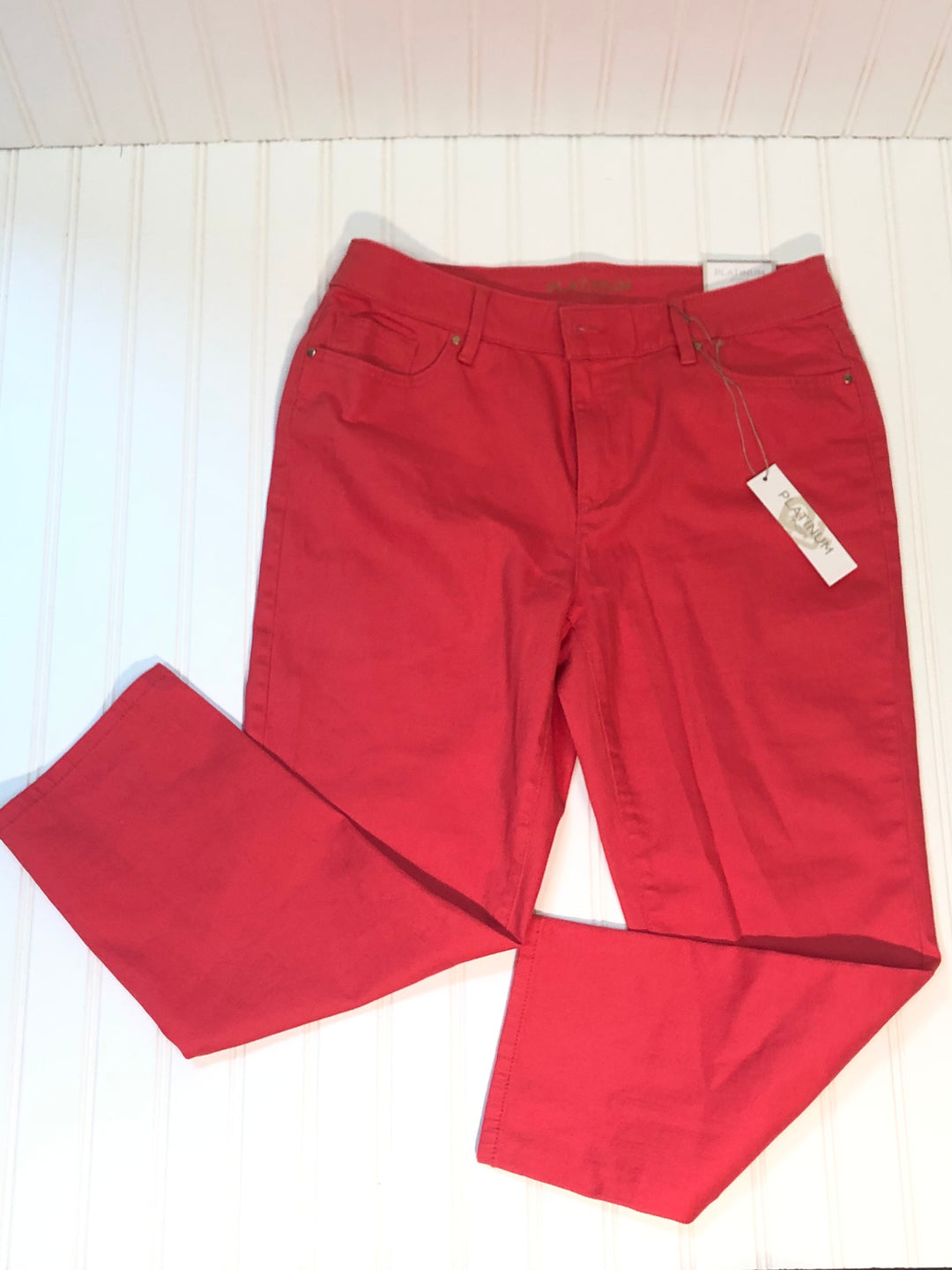 Primary Photo - BRAND: CHICOS <BR>STYLE: PANTS <BR>COLOR: CORAL<BR>SIZE: S <BR>SKU: 239-23918-33947<BR>CROP SIZE 0.5