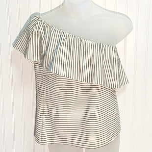 Primary Photo - BRAND: ANN TAYLOR STYLE: TOP SHORT SLEEVE COLOR: WHITE BLACK SIZE: L OTHER INFO: NEW! SKU: 239-23911-71423