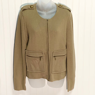 Primary Photo - BRAND: ANN TAYLOR STYLE: SWEATER CARDIGAN HEAVYWEIGHT COLOR: TAUPE SIZE: S OTHER INFO: NEW! SKU: 239-23911-71226