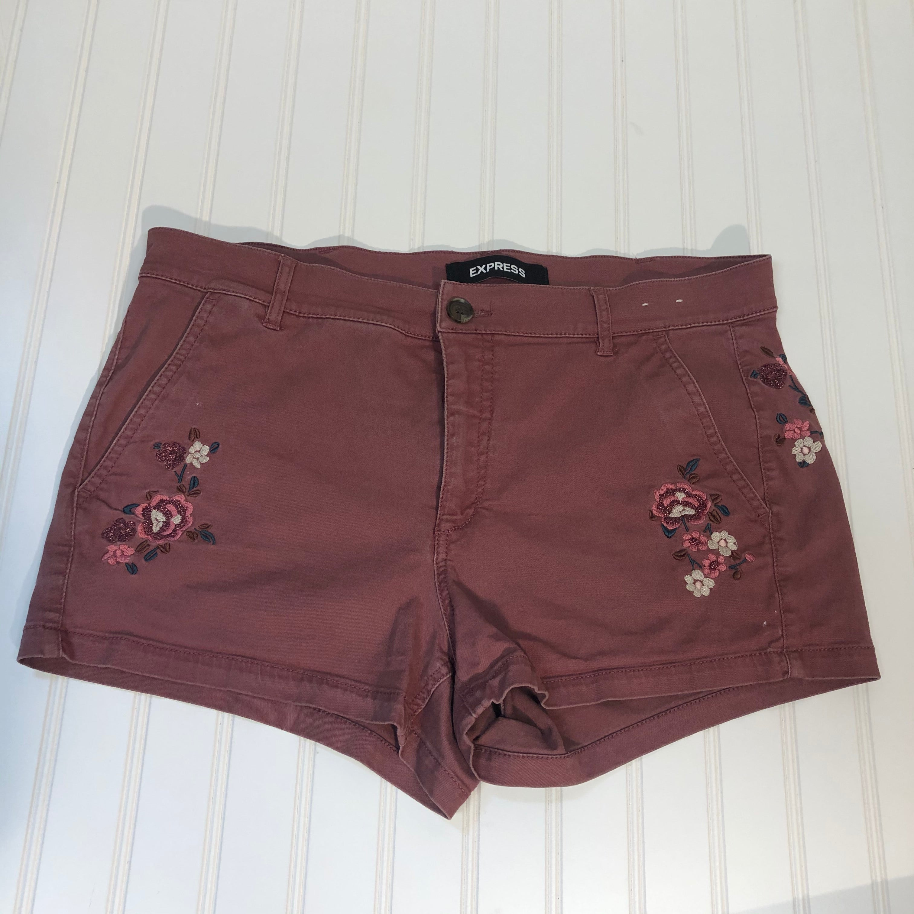 Primary Photo - BRAND: EXPRESS <BR>STYLE: SHORTS <BR>COLOR: MAUVE <BR>SIZE: 10 <BR>SKU: 239-23918-33759