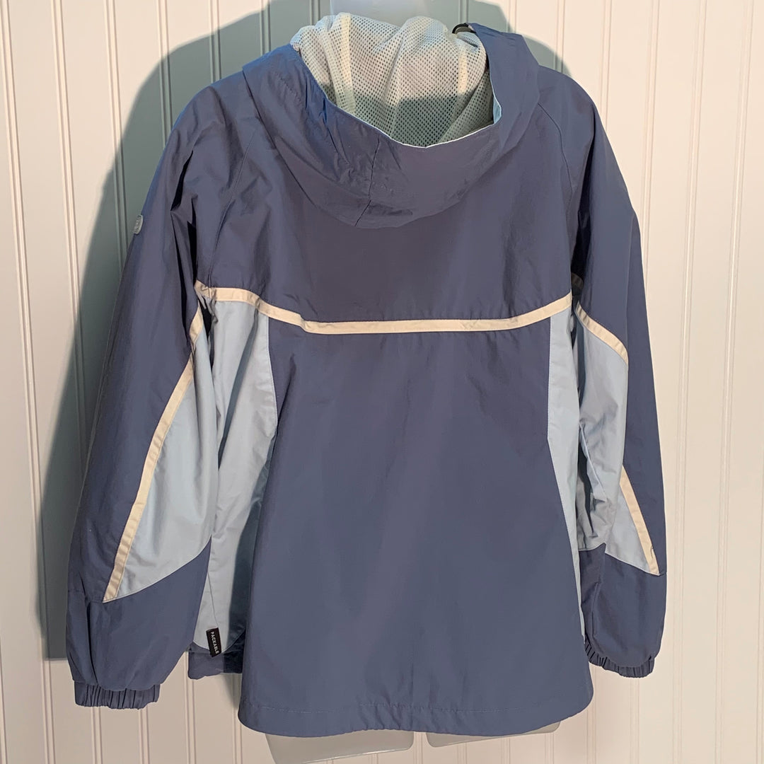 Photo #1 - BRAND: COLUMBIA <BR>STYLE: JACKET OUTDOOR <BR>COLOR: SLATE BLUE <BR>SIZE: M <BR>SKU: 239-23911-68282