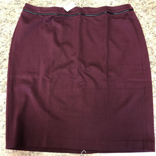 Primary Photo - BRAND: TALBOTS STYLE: SKIRT COLOR: BURGUNDY SIZE: 14 OTHER INFO: NEW! SKU: 239-23911-72648