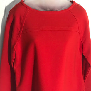 Primary Photo - BRAND: BANANA REPUBLIC STYLE: TOP LONG SLEEVE COLOR: RED SIZE: S SKU: 239-23918-36291