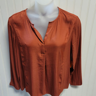 Primary Photo - BRAND: BANANA REPUBLIC STYLE: TOP LONG SLEEVE COLOR: RUST SIZE: XL OTHER INFO: NEW! 100% POLYESTER SKU: 239-23911-72703
