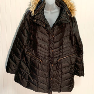 Primary Photo - BRAND: MARC NEW YORK STYLE: COAT SHORT COLOR: BLACK SIZE: 1X OTHER INFO: REMOVABLE HOOD SKU: 239-23911-71338