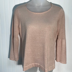 Primary Photo - BRAND: CALVIN KLEIN STYLE: TOP LONG SLEEVE COLOR: SPARKLES SIZE: L SKU: 239-23911-69056