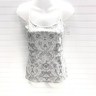 Primary Photo - BRAND: ANN TAYLOR LOFT O STYLE: TANK BASIC CAMI COLOR: GREY WHITE SIZE: S OTHER INFO: NEW! SKU: 239-23911-74067