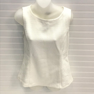 Primary Photo - BRAND: ANN TAYLOR STYLE: TOP SLEEVELESS COLOR: OFF WHITE SIZE: S SKU: 239-23911-73575