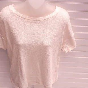 Primary Photo - BRAND: ANN TAYLOR LOFT STYLE: TOP SHORT SLEEVE COLOR: CREAM SIZE: S OTHER INFO: NEW! SKU: 239-23911-74029