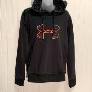Primary Photo - BRAND: UNDER ARMOUR STYLE: SWEATSHIRT HOODIE COLOR: BLACK SIZE: L SKU: 239-23918-37475
