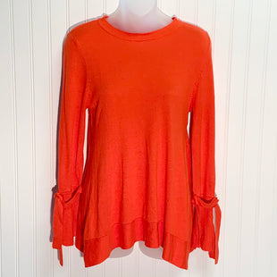 Primary Photo - BRAND: QUAKER FACTORY STYLE: SWEATER LIGHTWEIGHT COLOR: ORANGE SIZE: XS SKU: 239-23918-37414