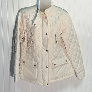 Primary Photo - BRAND: LAUREN BY RALPH LAUREN STYLE: COAT SHORT COLOR: OFF WHITE SIZE: PETITE LARGE OTHER INFO: QUILTED SNAP FRONT, POLYESTER SKU: 239-23911-71269