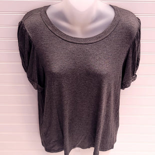 Primary Photo - BRAND: MAEVE STYLE: TOP SHORT SLEEVE COLOR: GREY SIZE: S SKU: 239-23911-74033