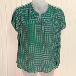 Primary Photo - BRAND: PLEIONE STYLE: TOP SHORT SLEEVE COLOR: GREEN SIZE: L SKU: 239-23911-72002