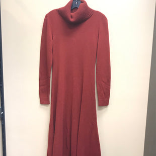 Primary Photo - BRAND: LAFAYETTE 148 STYLE: DRESS LONG LONG SLEEVE COLOR: RUST SIZE: S OTHER INFO: 100% CASHMERE NEW!!! SKU: 239-23911-69877
