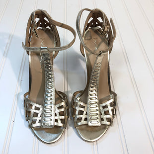 Primary Photo - BRAND: VIA SPIGA STYLE: SANDALS HIGH COLOR: GOLD SIZE: 5.5 SKU: 239-23911-68411NEW