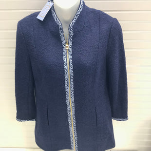 Primary Photo - BRAND:  SAIL TO SABLESTYLE: COAT SHORT COLOR: NAVY SIZE: L OTHER INFO:  WOOL BLEND  NEW!! SKU: 239-23918-38943