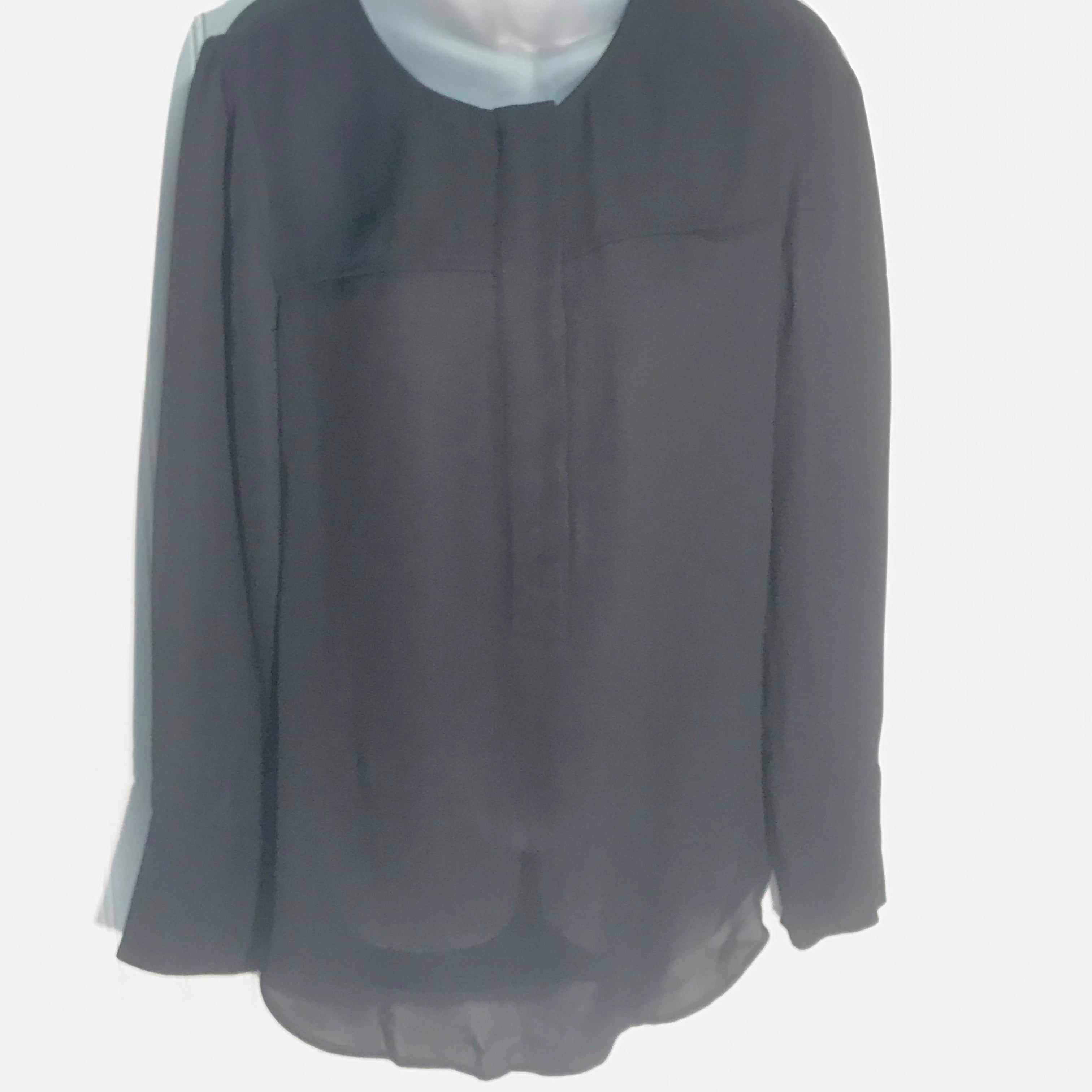 Primary Photo - BRAND: J CREW <BR>STYLE: TUNIC LONG SLEEVE <BR>COLOR: BLACK <BR>SIZE: S <BR>SKU: 239-23918-36311<BR>