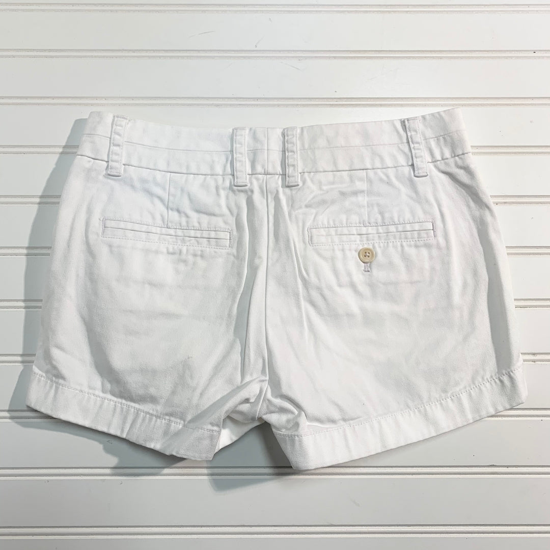Photo #1 - BRAND: J CREW <BR>STYLE: SHORTS <BR>COLOR: WHITE <BR>SIZE: 0 <BR>SKU: 239-23918-37605