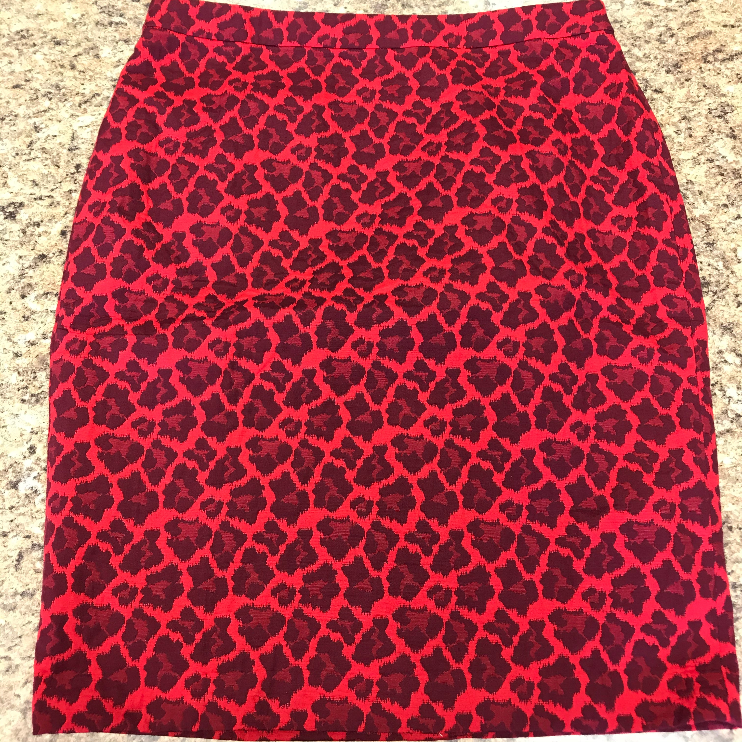 Primary Photo - BRAND: TALBOTS <BR>STYLE: SKIRT <BR>COLOR: RED <BR>SIZE: 16 <BR>SKU: 239-23911-72647